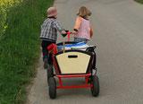 Tagesmutter Klettgau  Kinderbetreuung Spaziergang