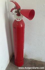 extintor para extinción de incendios - www-aorganizarte.com