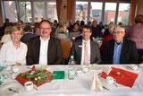 von links: Klara Lensing, OV Günter Jäger, BM Joachim Kunth, Karl Wirtz