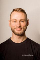 Maximilian Choroba: Auszubildender (Werkstatt)