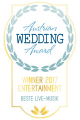 Austrian Wedding Award Winner Hochzeitsband Liveband