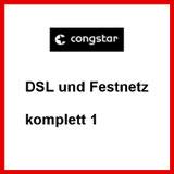 DSL und Festnetz Anschluss komplett 1 von congstar