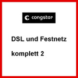 DSL und Festnetz Anschluss komplett 2 von congstar