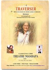 """Reprise de """"Traverser"""", un spectacle créé au Mandapa - 29 mai 2010"""