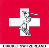 The new Cricket Switzerland logo