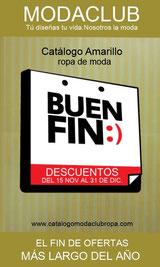 catalogo (amarillo) de ofertas el buen fin 2013 - moda club