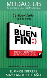 catalogo (verde) de ofertas el buen fin 2013 - moda club