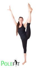 Ballett-Stretching POLEFIT Graz Katharina Kerschbaumer