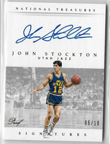JOHN STOCKTON / Signatures - No. S-JSK  (#d 5/10)