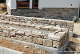muret pierres jardinière mandala