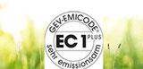 EC1 Siegel - emissionsarm