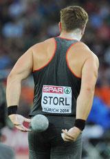 David Storl, Weltmeister, Kugelstoßen