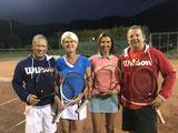 Mixed Doppel Halbfinalisten