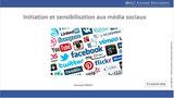 """Formation """"initation et sensibilisation aux médias sociaux""""avec le cabinet Web 2 Conseil Formation"""