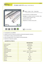Tubo led industrial