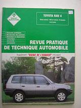 Revue Technique Auto: Toyota Rav4 à partir de 1998