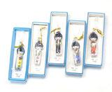 九谷焼『爪切り』お人形 5色セット