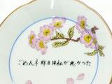 九谷焼 円満皿
