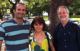 G. Pawelec at the First Workshop on Healthy Aging with the organiser Prof. A. Caetano and Dr. M. Bauer (Dec 2012, Minas Gerais, Brazil).