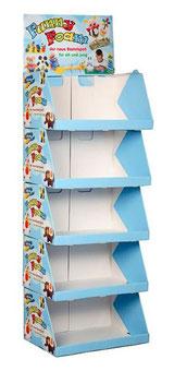 Stapelkarton Stapeltray Display aus Pappe mit Druck