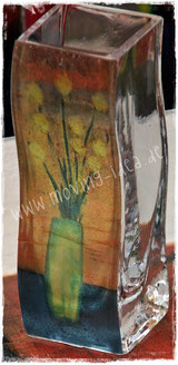 Malerei auf einer kleine Vase