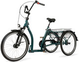 Pfau Tec Ally Dreirad und Elektro-Dreirad für Erwachsene - Shopping-Dreirad 2017