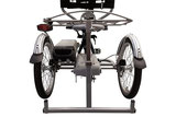 Rollatoraufhängung an Dreirädern von Van Raam Beratung, Probefahrt und kaufen in Düsseldorf