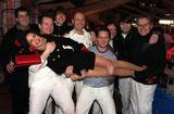 Party-Stimmung im Penn-Zelt