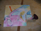 "Kunstprojekt ""Metamorphose"" 2 x 16,2 m²"