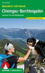 Buch Wandern mit Hund, Chiemgau, Berchtesgaden