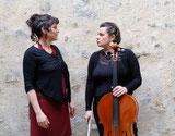 De chair et de vent est un spectacle de conte en duo porté par la compagnie parolata sung