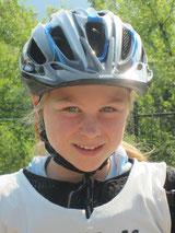 Lisa startete in 3 von 4 Rennen und holte sich den Gesamtsieg in der U 12 w
