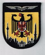 Staffelwappen der Bundespolizei Fliegestaffel Blumberg (vormals Fliegerstaffel Ost).