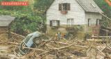 """Nach dem Hochwasser beim """"Lustigen Bauer"""""""