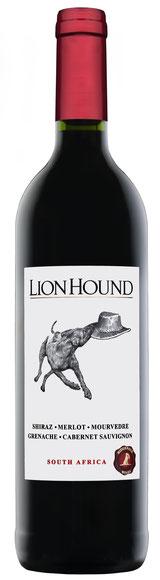 Ridgeback Lion Hound Red hat wunderbare Fruchtaromen und einen intensiven Abgang. Ein schöner Rotwein für jeden Tag und jede Gelegenheit.