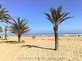 Ferienwohnung Valencia, Strand von Gandia, Foto: © Birgitta