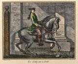 Nr. 2514 Le Galop uni à droite