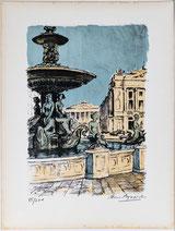Brunnen auf dem Place de la Concorde, Paris