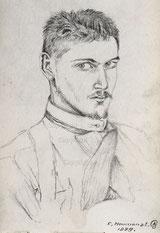 Ein erstes Selbstportrait 1889