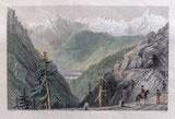 The Bernese Alps (vom Simplon Weg gesehen) VS