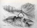 Kapelle Kühmatt im Lötschental VS