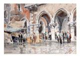 Marktszene Venedig