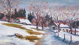 Erster Schnee im Jura