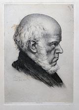 Portrait Adolf von Menzel 1885