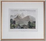 Nr. 3271 Vue sur les Alpes au dessus de Meiringen