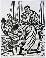 Fischer mit Frau