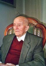 Hans Steinhauer,  95jährig
