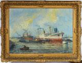 Hafen-Szene Rotterdam