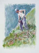Der Wildheuer Inäbnit Franz, Oberried