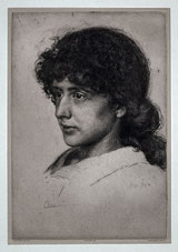 Portrait Eva Dohm, 1886